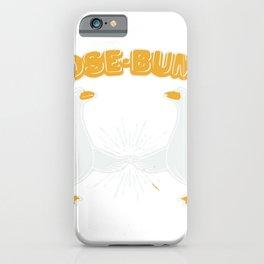 Goose Bumps iPhone Case