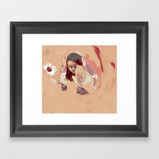 The Ship Stinker  Framed Art Print