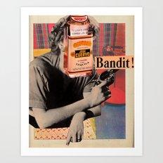 Tequila Bandit Art Print