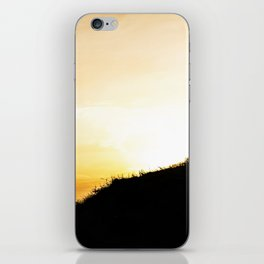 Sun is going down iPhone Skin