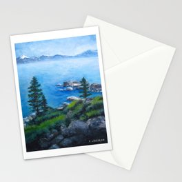 Lake Tahoe Lake of the Sky Stationery Cards