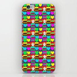 LOVE-1 iPhone Skin
