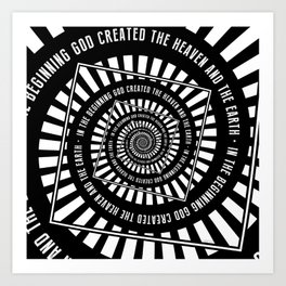 In The Beginning Art Print