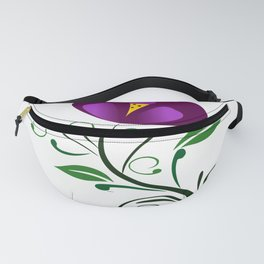 abstract pattern flower carpet design Fanny Pack