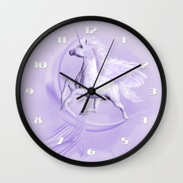 Flying Pegasus Wall Clock