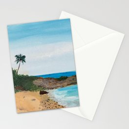 Relaxation by the Beach Stationery Cards