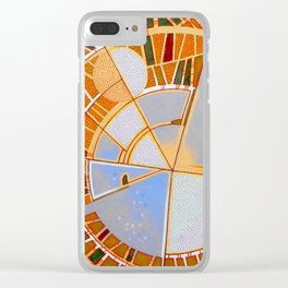 The cities of the moon Clear iPhone Case