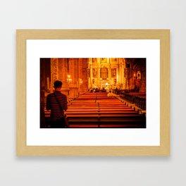 Religion Portugal Framed Art Print