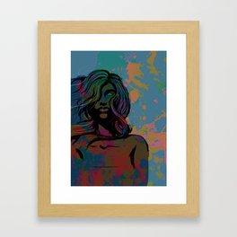 To Be Female Framed Art Print