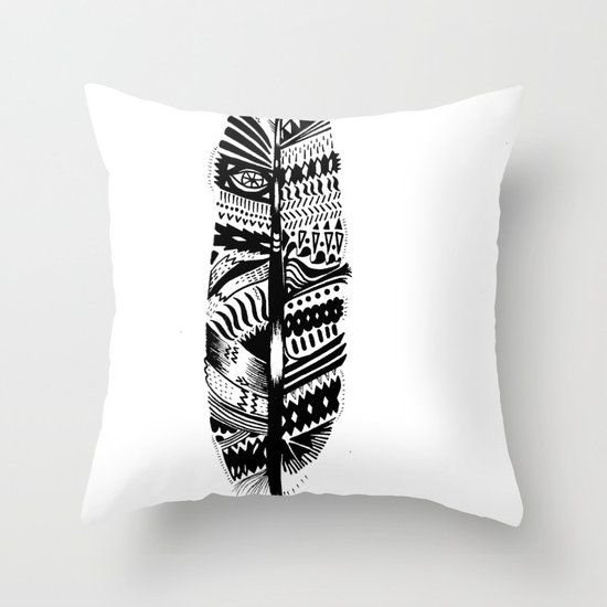 A long time ago I used to be an Indian (2) Throw Pillow