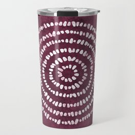 Yoga Stones in Wine Travel Mug
