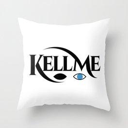 KELL ME v1 Light Throw Pillow