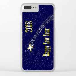 2018 Rising Star Clear iPhone Case