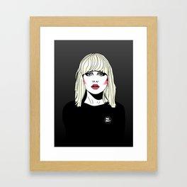 Blondie Framed Art Print