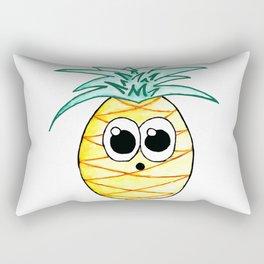 The Suprised Pineapple Rectangular Pillow