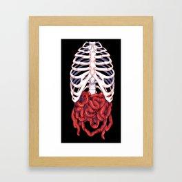 Small Intestine Framed Art Print