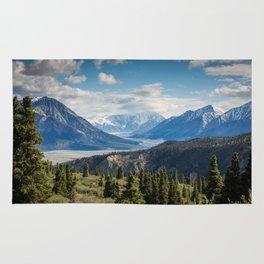 Mountain Landscape # sky Rug