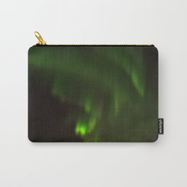 Northern lights in the North of Sweden Carry-All Pouch