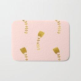 Pink Gold Foil 03 Bath Mat
