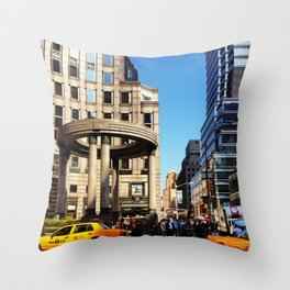 N e w Y or k C i t y  Throw Pillow
