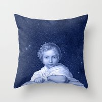 little prince Throw Pillows featuring Little Prince by VINSPIRO