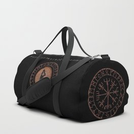 Raidho Elder Futhark Rune Travel, journey, vacation, relocation, evolution, change of place Duffle Bag