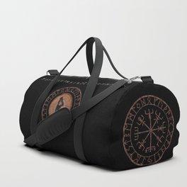 Raidho Elder Futhark Rune Travel, journey, vacation, relocation, evolution, change of place Duffle Bag
