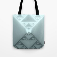 Triangles Glow Tote Bag