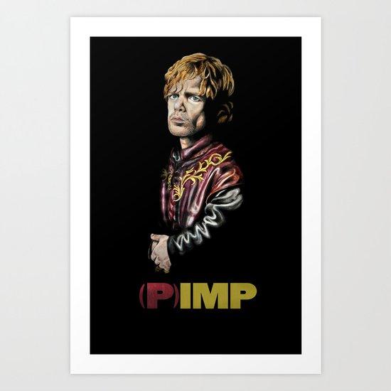 (P)IMP Art Print