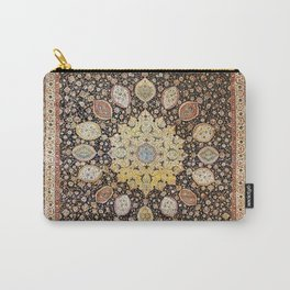 Ardabil Persian Safavid Carpet Print Carry-All Pouch