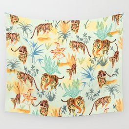 TIGERS Wall Tapestry