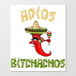 Aidos Bitchachos - Cinco De Mayo Chili Canvas Print