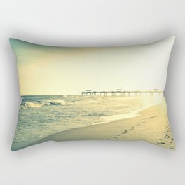 Couple on the Beach Rectangular Pillow