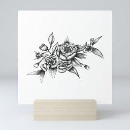 Flower Arrangement 01 Mini Art Print