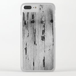 stagionato Clear iPhone Case