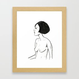 A Simple way Framed Art Print