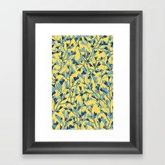 HEARTS PLANTATION [yellow] Framed Art Print