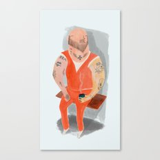 Convict Canvas Print