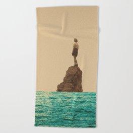 Lonesummer Beach Towel