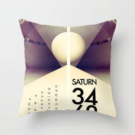 Saturn 3468 Throw Pillow
