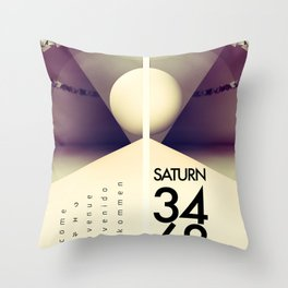 Saturn 3468 Throw Pillow