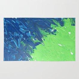 Blue & Green, No. 1 Rug