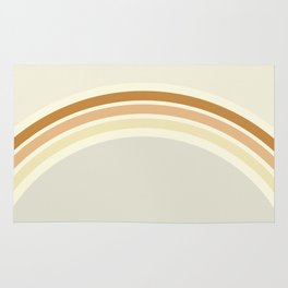 one day – earthen clay layers Rug