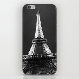 retro eiffel tower  iPhone Skin