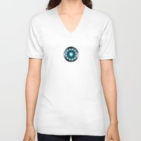 iron man V-neck T-shirts featuring IRON MAN Iron Man by Veylow