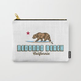 Redondo Beach. Carry-All Pouch