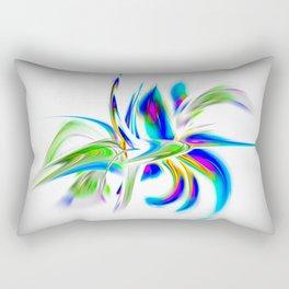 Abstract perfection - Flower Magical Rectangular Pillow