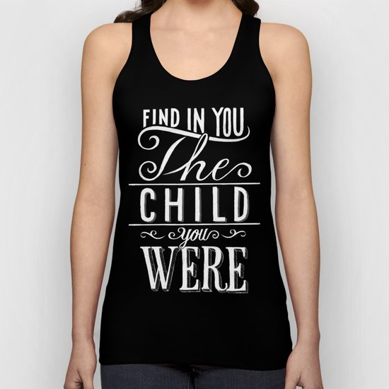 find in you Unisex Tank Top