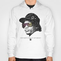 lakers Hoodies featuring Eazy Muthafuckin E by Rogemil Velasco