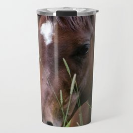 Horse Portrait Travel Mug
